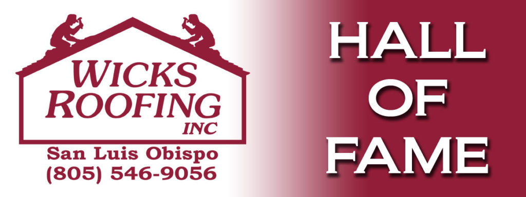 Wicks Roofing Hall of Fame sponsor photo