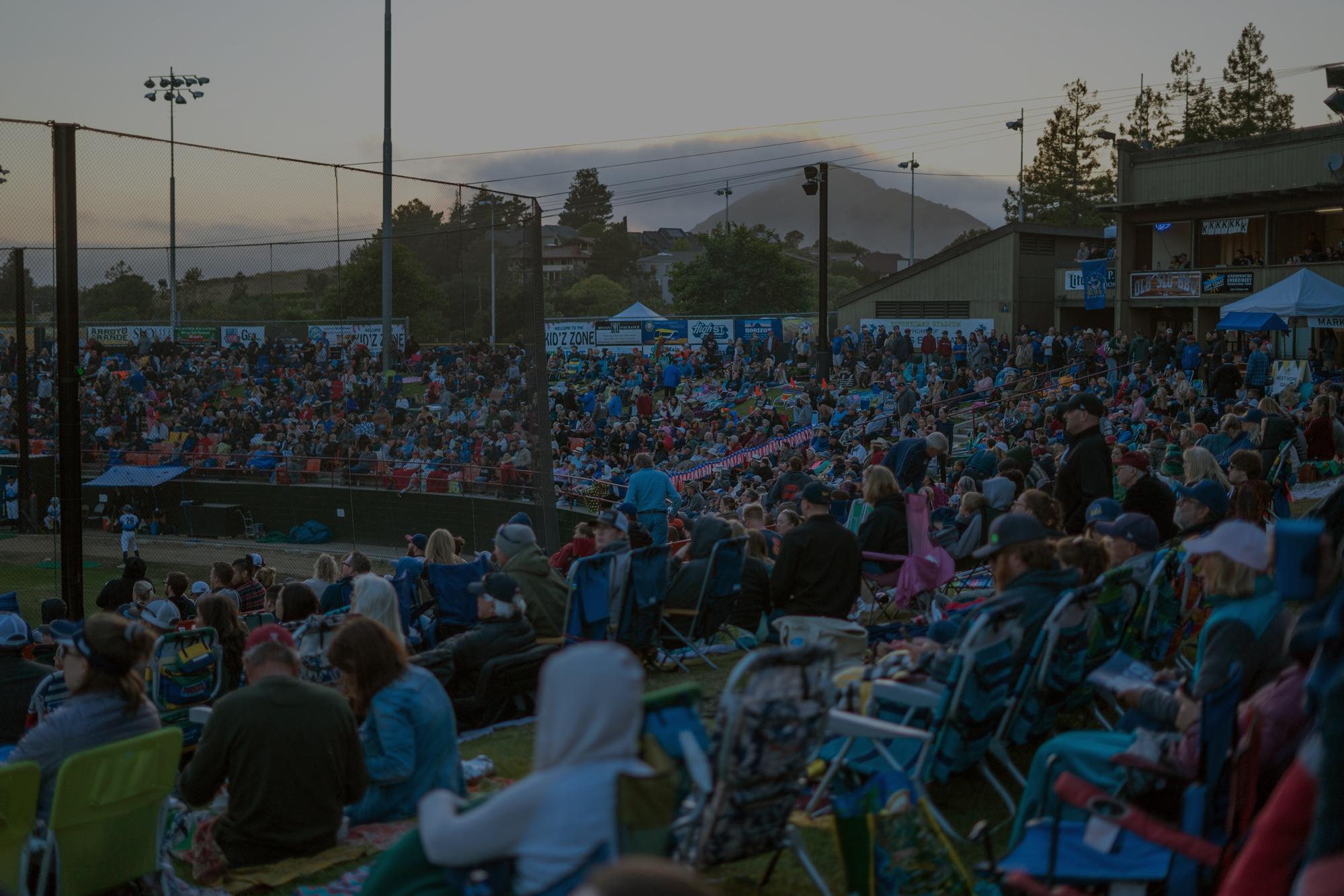 Blues Baseball San Luis Obispo home page banner